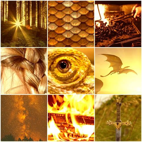 Fairytale Dragons Aesthetic